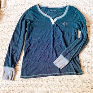 Tommy Hilfiger Long Sleeve Henley Lounge Top